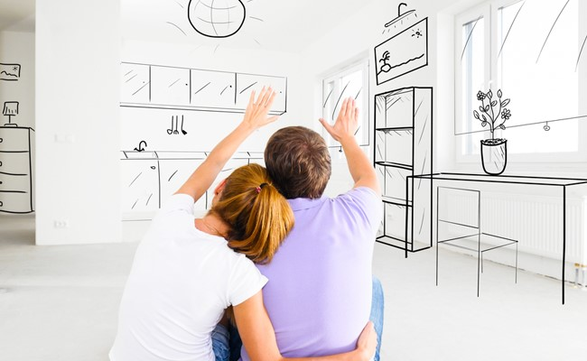 pearland tx couple designing residential rental home