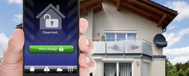 alarm app that controls residential alarm system