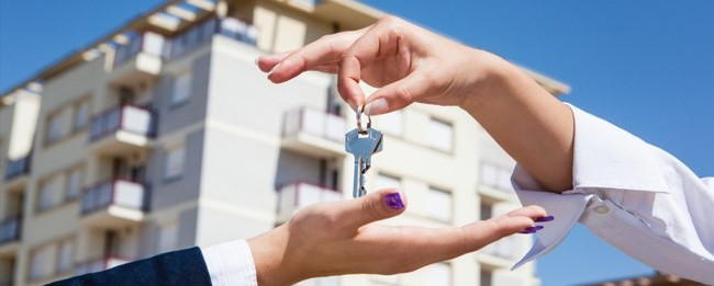 exchange of keys after katy residential home sale